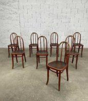 ensemble de 8 chaises modele 638 thonet grand dossier couleur acajou hauteur assise 47cm 5francs 1 172x198 - Ensemble de 8 chaises n°638 Thonet acajou grand dossier modèle rare