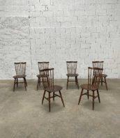 """chaise baumann western 35 bistrot vintage bar 5francs 1 172x198 - Ensemble de 35 chaises Baumann modèle """"WESTERN"""" vintage foncées"""