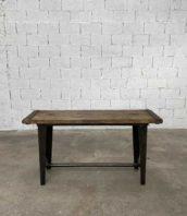 console industrielle atelier bois metal 150cm 5francs 1 172x198 - Petite console industrielle de 150 cm