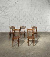 """ensemble 21 chaises baumann bistrot bar macon 5francs 1 172x198 - Ensemble 21 chaises bistrot Baumann vintage """"MACON"""""""