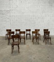 ensemble chaises baumann bistrot bar lille 5francs 1 172x198 - Ensemble de 24 chaises de bistrot Baumann foncé avec grand dossier
