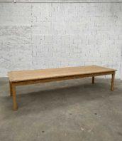 grande table ferme chene 349cm atelier 5francs 1 172x198 - Rare grande table de ferme en chêne massif époque 1900 de 350 cm