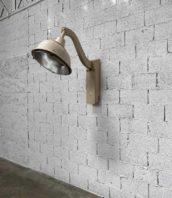 lampadaire rue lyon zinc industriel 5francs 1 172x198 - Ancien lampadaire de rue ville de Lyon col de cygne année 50
