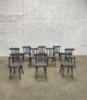 lot chaise baumann grise bistrot 5francs 1 172x198 - Ensemble de 50 chaises bistrot Baumann patine grise