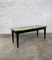 table ferme ancienne noyer patine 196cm 5Francs 1 172x198 - Ancienne table de ferme en noyer 196 cm pieds foncés