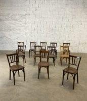 """Ensemble 18 chaises bistrot style bauman Jacqueline 5francs 1 172x198 - Ensemble de 18 chaises bistrot """"Jacqueline"""" style Baumann"""