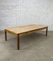 """ancienne table de ferme Tours pin massif longue 278cm 5francs 1 172x198 - Ancienne Table de ferme """"TOURS"""" en pin massif longue 278cm"""