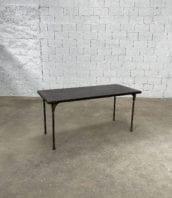 ancienne table de jardin style industriel metal longue 160cm 5francs 1 172x198 - Ancienne table de jardin style industriel en métal longue 160 cm