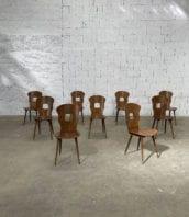 ensemble 30 chaises de bistrot baumann modele gentiane vintage 5francs 1 172x198 - Ensemble de 30 chaises de bistrot Baumann modèle Gentiane vintage