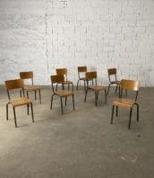 lot 40 chaises decole marrones structure tubulaire hauteur assis 45cm 5francs 1 172x198 - Lot 40 chaises d'école marrons hauteur d'assis 45cm