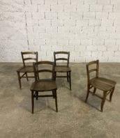 chaise-art-pop-chene-massif-année-1900-