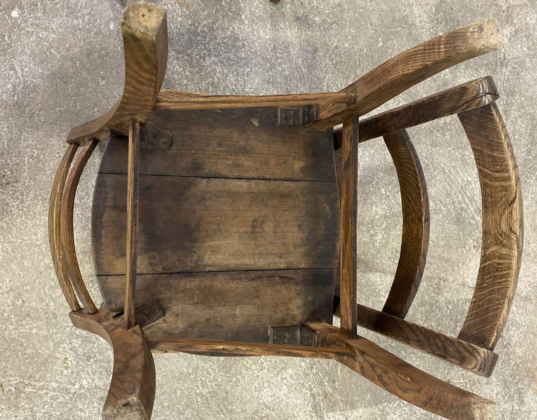 chaise-art-pop-chene-massif-année-1900-7