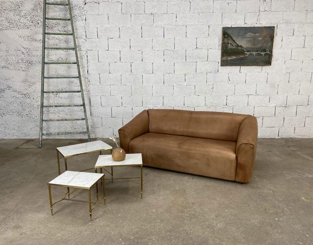 set-tables-basses-gigognes-marbre-laiton-maison-Jansen-5francs-7