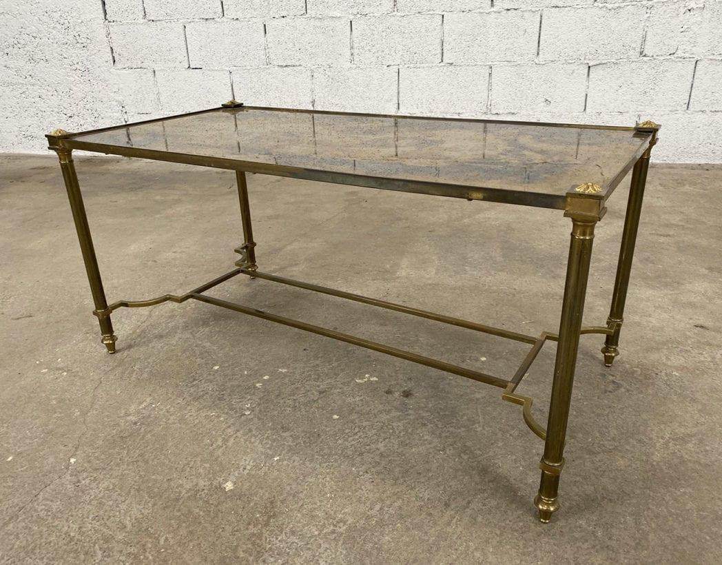 table-basse-laiton-plateau-oxydé-maison-bagues-5francs-4