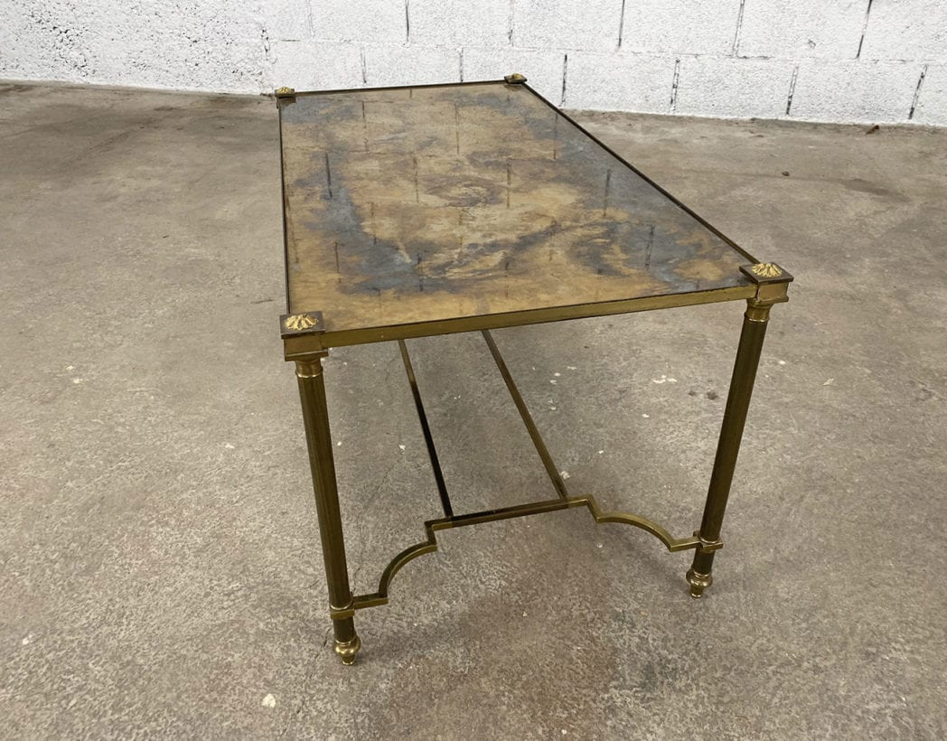 table-basse-laiton-plateau-oxydé-maison-bagues-5francs-7