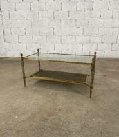table-basse-laiton-rectangulaire-deux-plateaux-maison-jansen-5francs-1