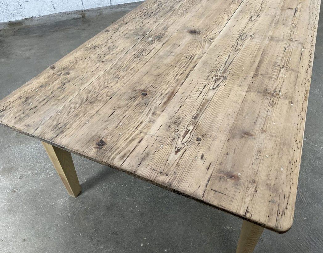 table-de ferme-de travail-pin-XXL-1900-5francs-10