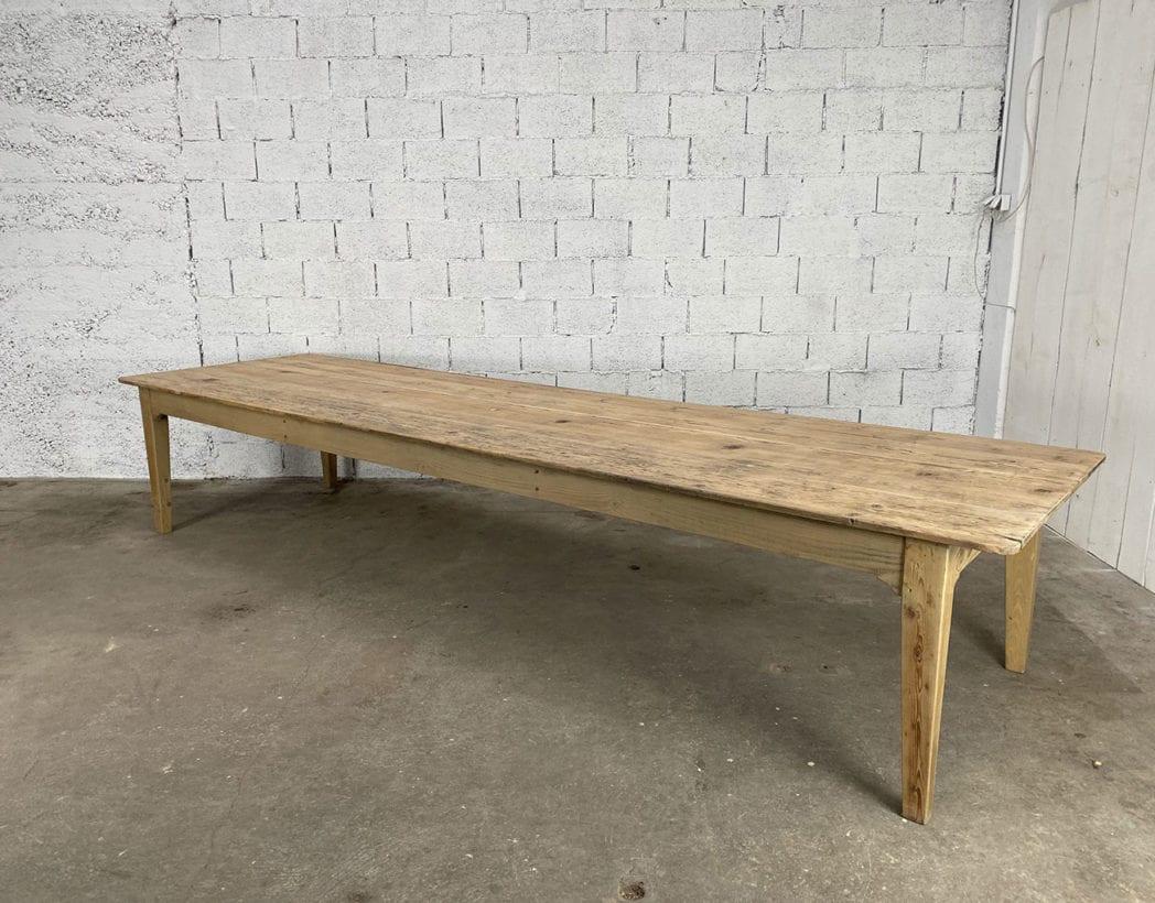 table-de ferme-de travail-pin-XXL-1900-5francs-5