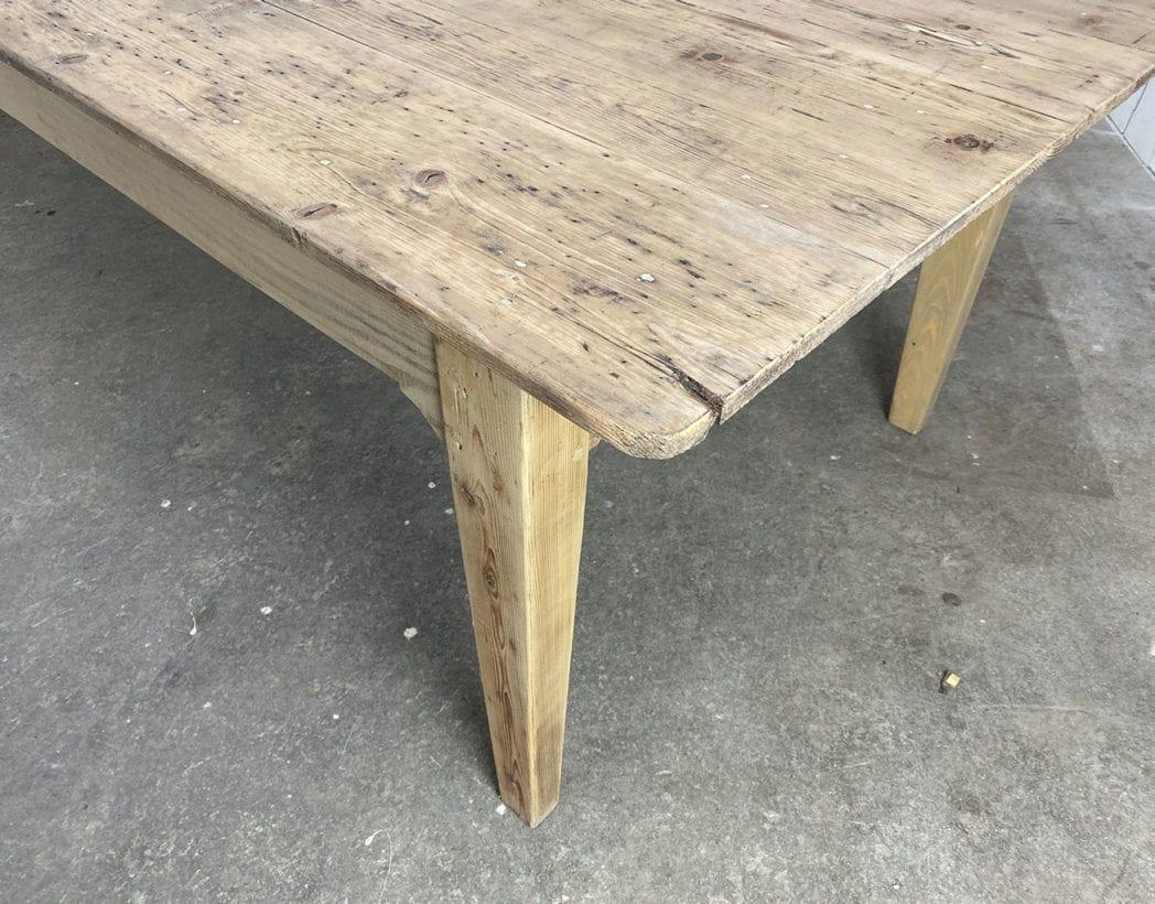 table-de ferme-de travail-pin-XXL-1900-5francs-6