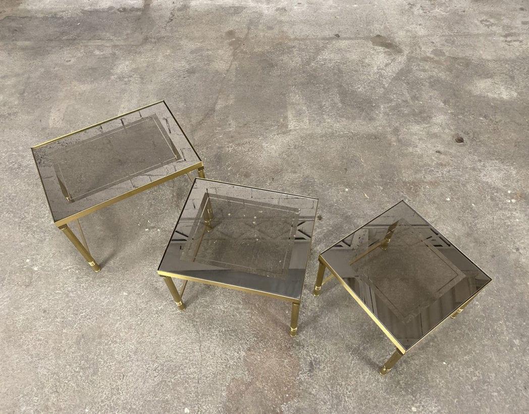 tables-basses-gigognes-laiton-doré-verre-fumé-maison-janser-5francs-5