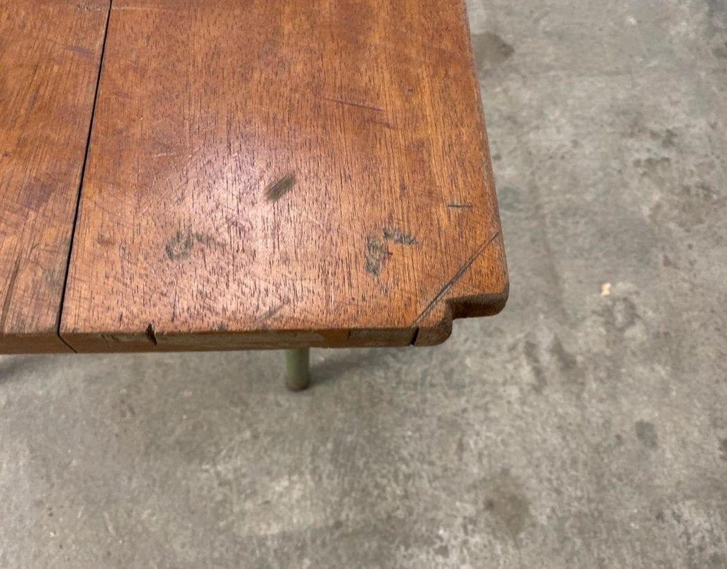 ancienne-table-refectoire-bois-tube-metallique-vintage-retro-5francs-6