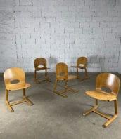 anciennes-chaises-refectoire-bois-plie-vintage-années-80-5francs-1