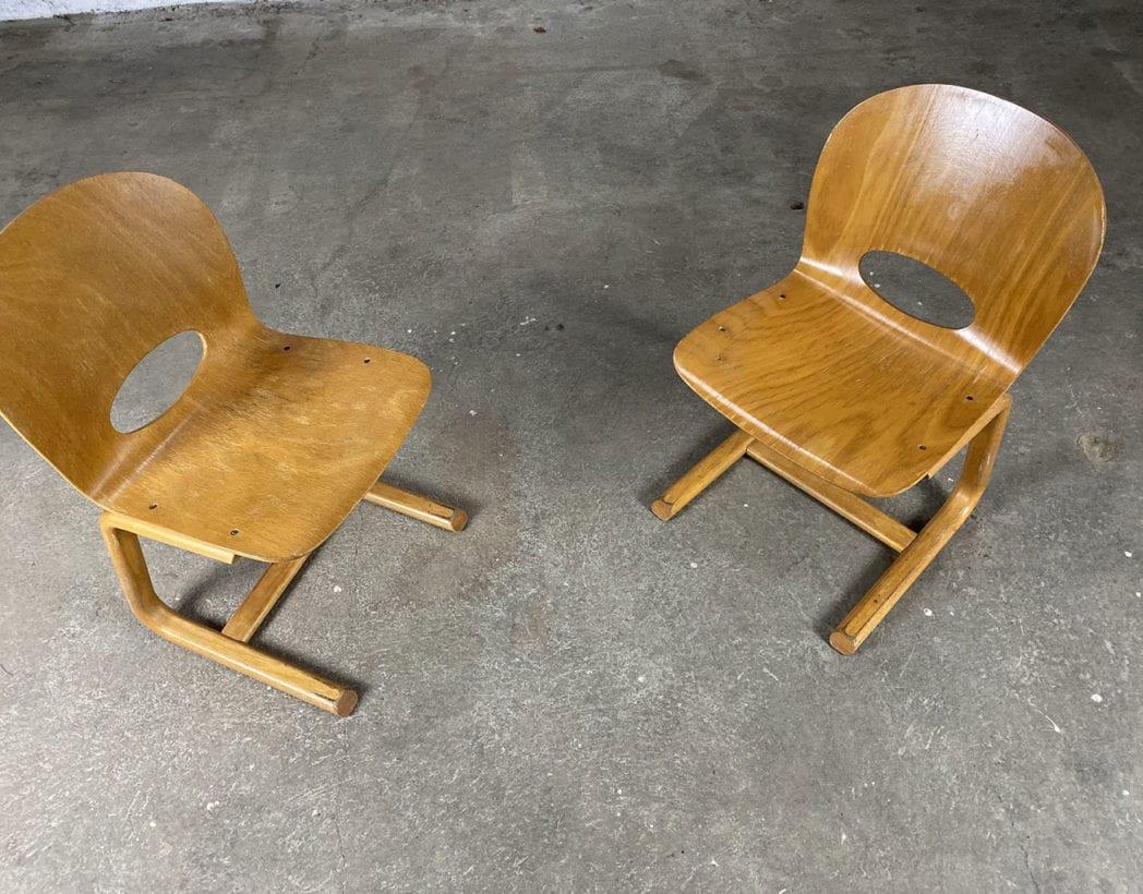 anciennes-chaises-refectoire-bois-plie-vintage-années-80-5francs-5
