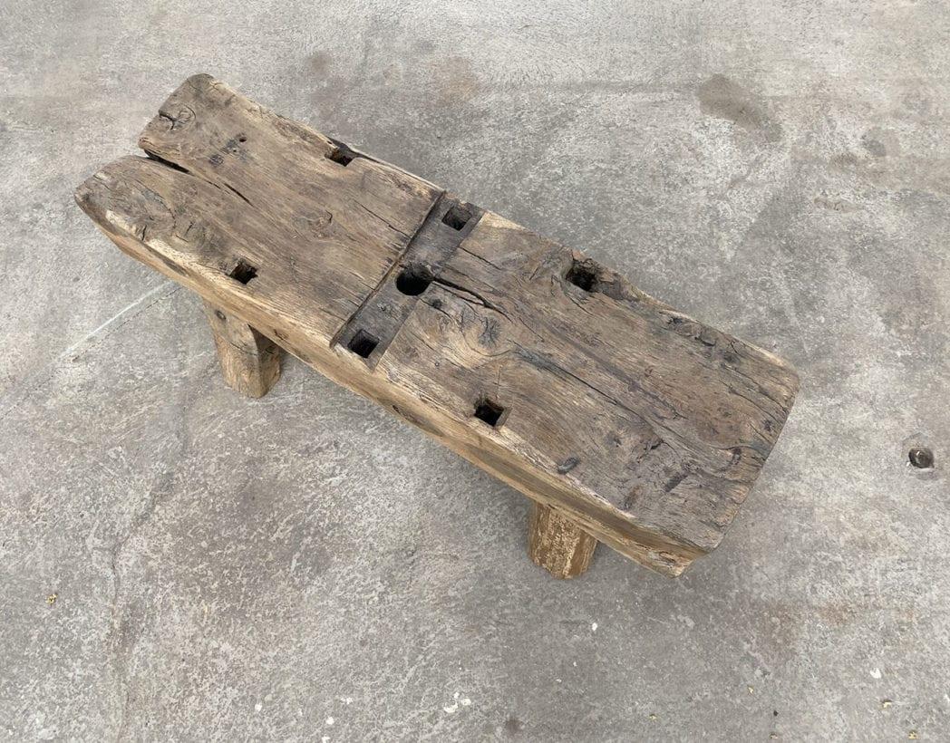 banc-brutaliste-rustique-campagne-boheme-chene-patine-vintage-5francs-4