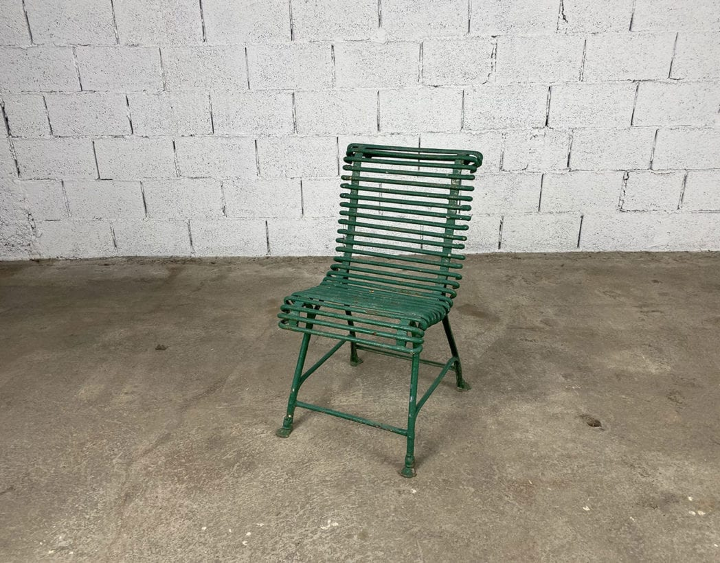 chaise-jardin-arras-fer-metal-pied-sabot-vintage-5francs-2