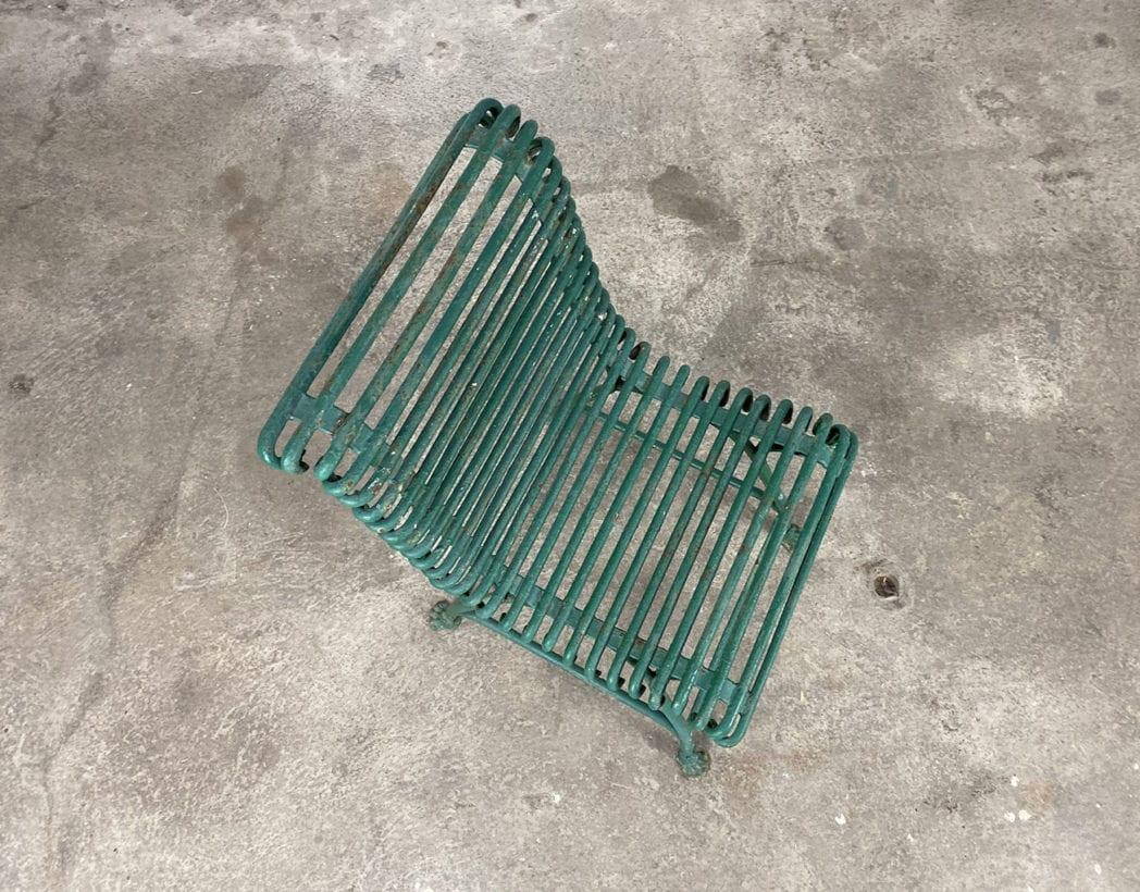 chaise-jardin-arras-fer-metal-pied-sabot-vintage-5francs-7
