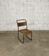 chaise-tubulaire-esprit-marcel-bauhaus-bois-patinee-vintage-annees-5francs-1