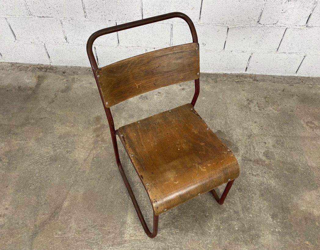 chaise-tubulaire-esprit-marcel-bauhaus-bois-patinee-vintage-annees-5francs-4