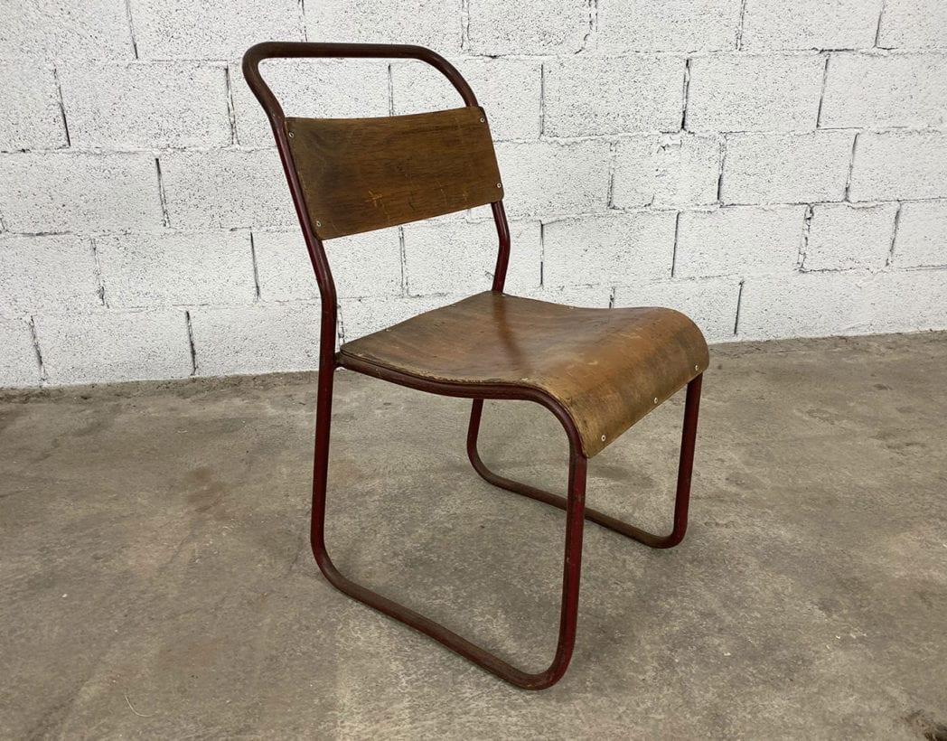 chaise-tubulaire-esprit-marcel-bauhaus-bois-patinee-vintage-annees-5francs-5
