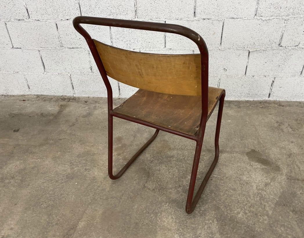 chaise-tubulaire-esprit-marcel-bauhaus-bois-patinee-vintage-annees-5francs-9