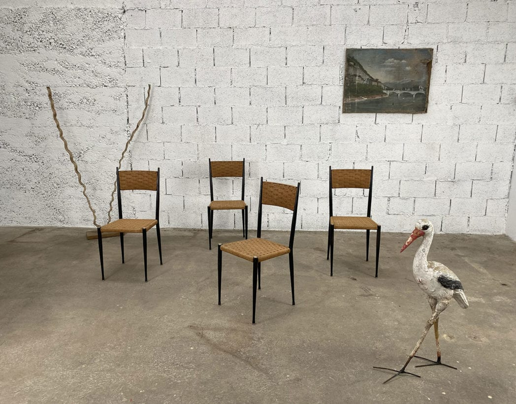 chaises-bois-corde-tressee-laiton-gio-ponti-vintage-5francs-10