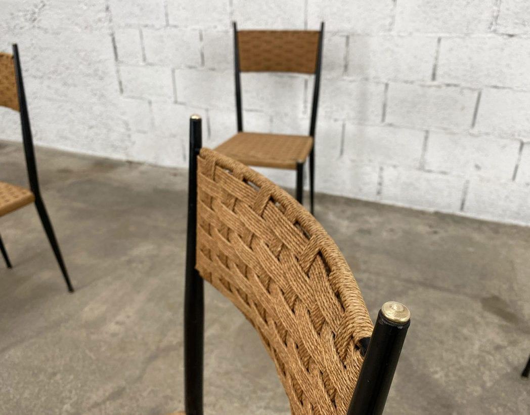 chaises-bois-corde-tressee-laiton-gio-ponti-vintage-5francs-4