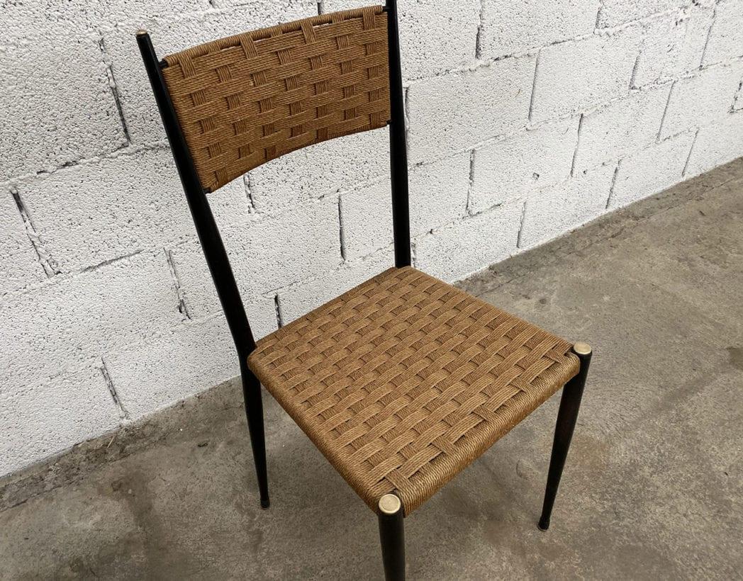 chaises-bois-corde-tressee-laiton-gio-ponti-vintage-5francs-8