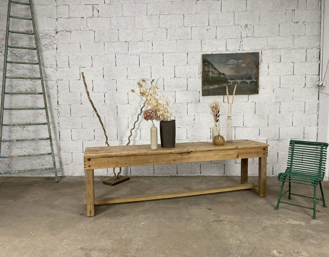 console-en pin-patine-bois-clair-enfilade-ancien-meuble-de-metier-vintage-5francs-10