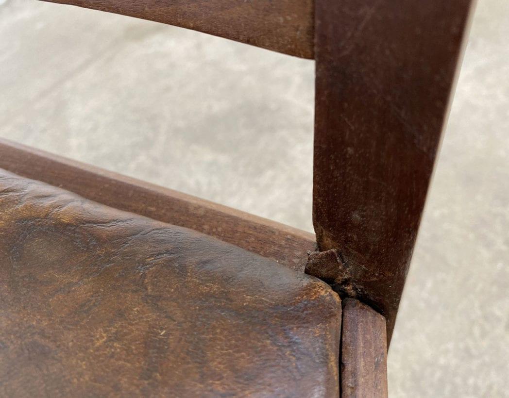 fauteuil-art-nouveau-bois-exotique-chene-cuir-vintage-retro-annees20-5francs-5