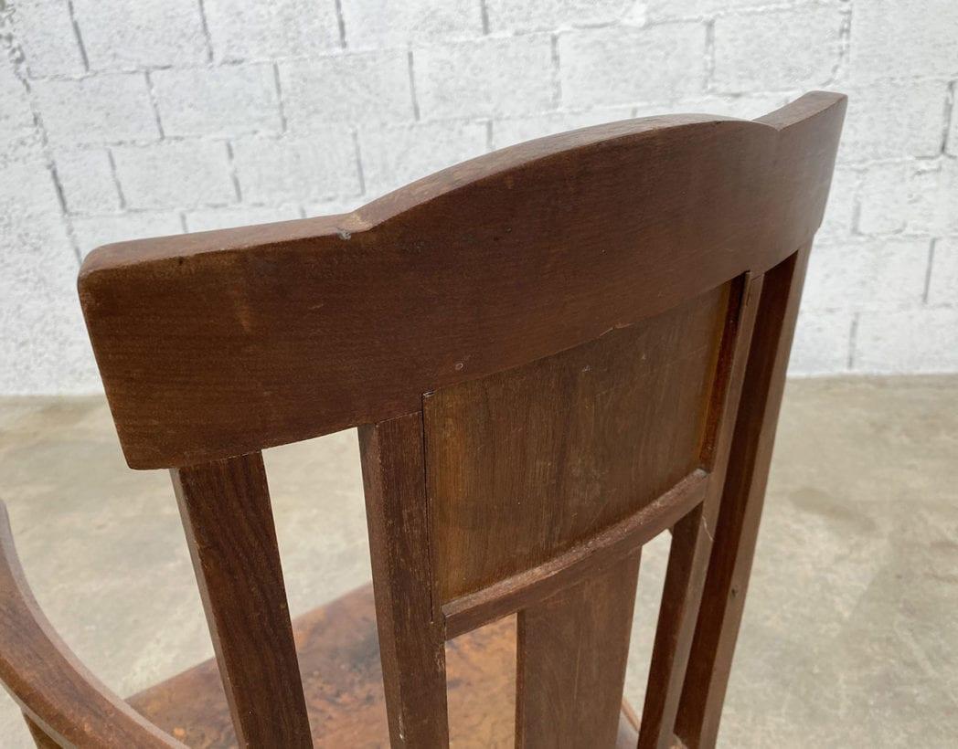 fauteuil-art-nouveau-bois-exotique-chene-cuir-vintage-retro-annees20-5francs-7