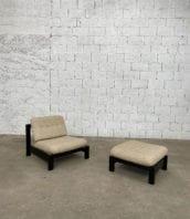 fauteuil-bas-repose-pieds-ottomane-vintage-rétro-5francs-2