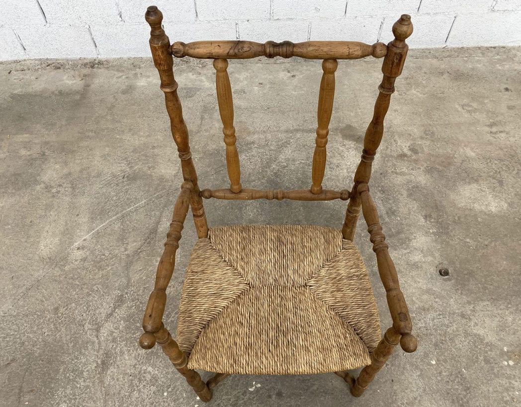 fauteuil-paille-bois-tourne-rustique-boheme-campagne-vintage-5francs-4