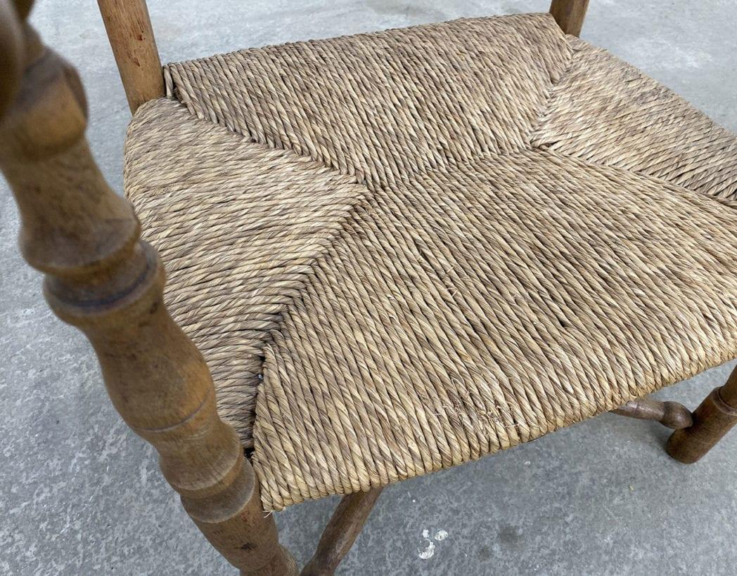 fauteuil-paille-bois-tourne-rustique-boheme-campagne-vintage-5francs-5