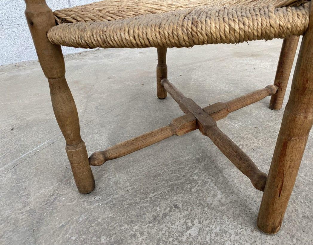 fauteuil-paille-bois-tourne-rustique-boheme-campagne-vintage-5francs-7
