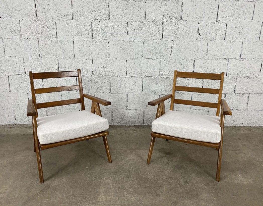 fauteuils-pieds-compas-bois-chêne-vintage-annees50-5francs-2