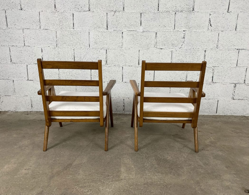 fauteuils-pieds-compas-bois-chêne-vintage-annees50-5francs-5
