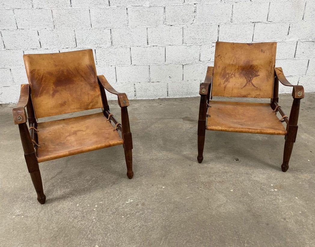 fauteuils-safari-acajou-cuir-marron-annees-60-5francs-2