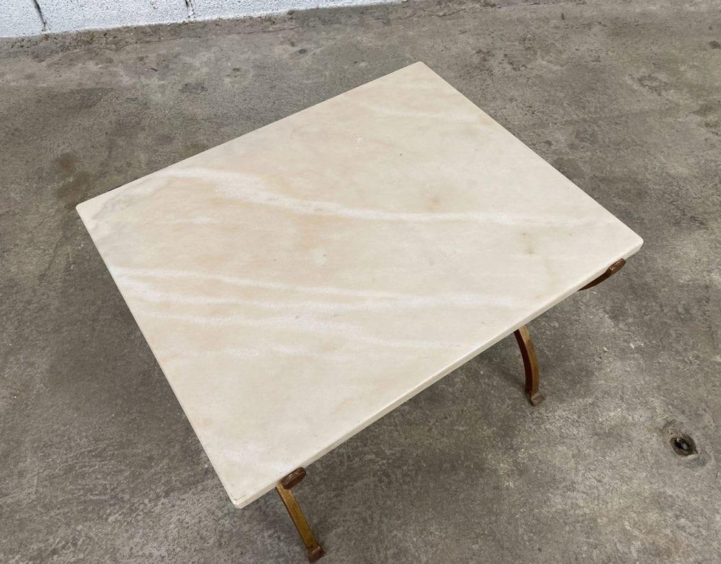 petite-table-basse-marbre-fer-forge-vintage-annees70-5francs-4