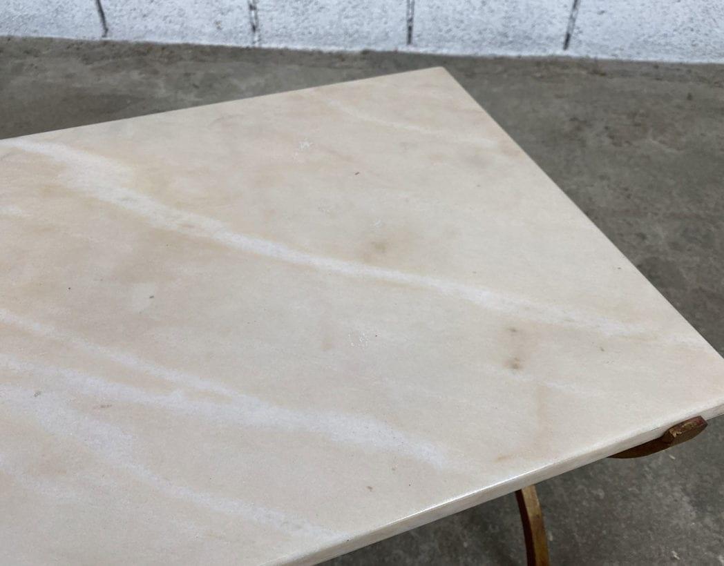 petite-table-basse-marbre-fer-forge-vintage-annees70-5francs-5