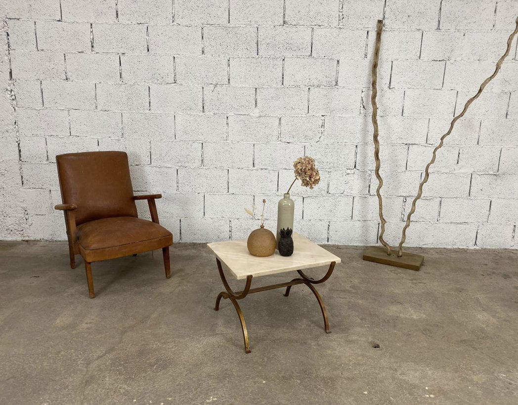 petite-table-basse-marbre-fer-forge-vintage-annees70-5francs-6